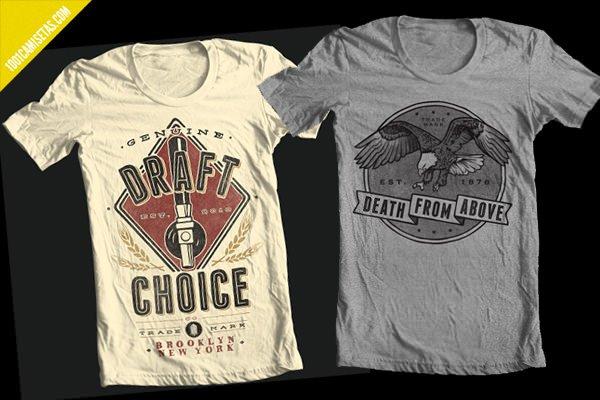 Camisetas vintage