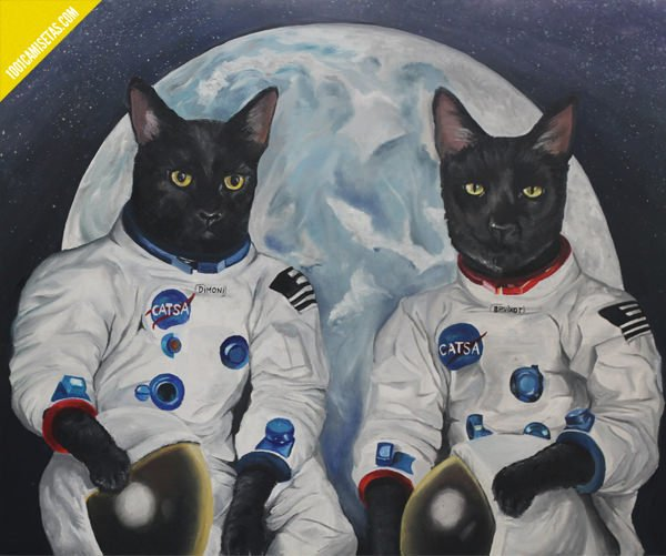 Pintura gatos Noelia Towers