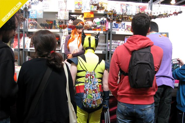 Salon del comic Barcelona lobezno