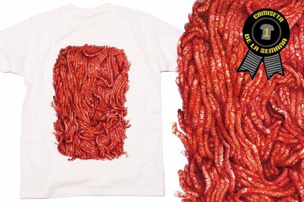 Camiseta carne picada