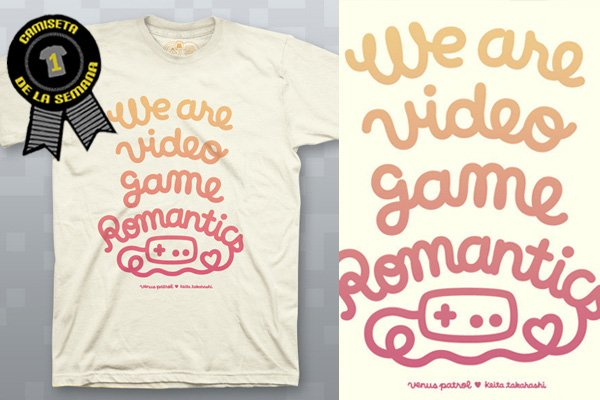 Camiseta de la semana video games