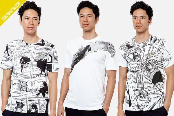 Camisetas manga Lacoste