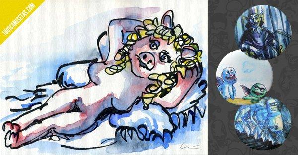 Chapas personalizadas historias con arte