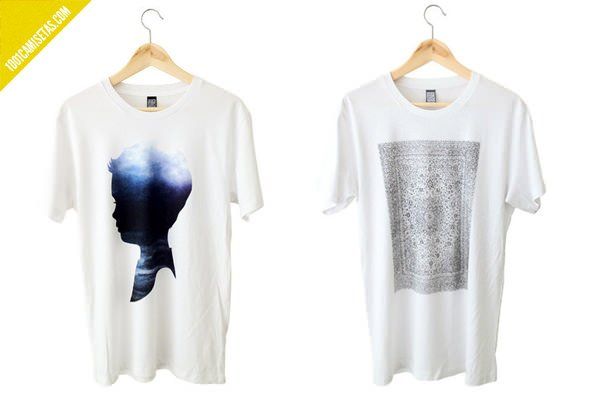 Cloth and resin tshirts