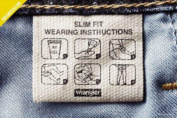 Instrucciones uso pantalones