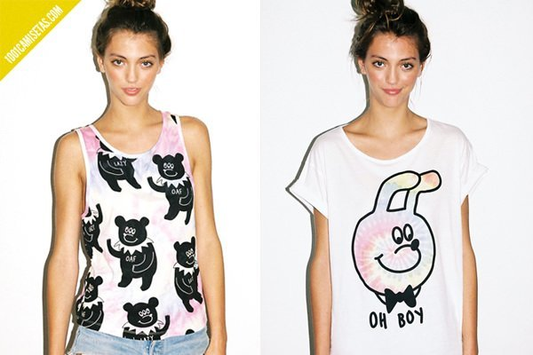 Lazy oaf tee shirts