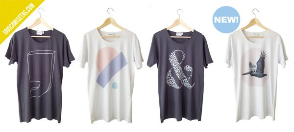 Nuevas camiseta Clothandresin