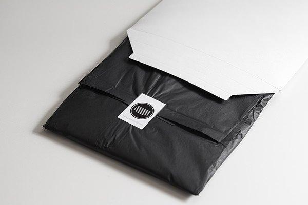 Packaging camisetas Pedro Arilla