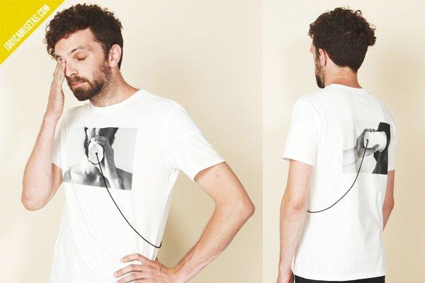 Camiseta ilusion optica