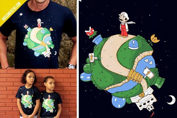 Camiseta Super mario principito