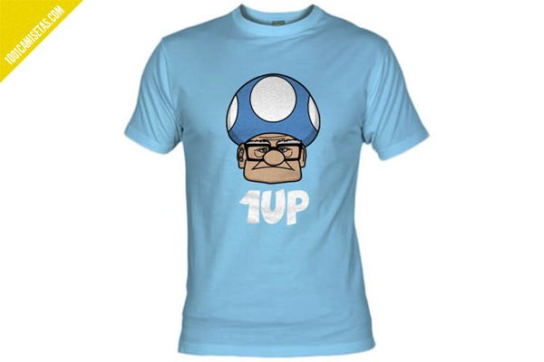 Camiseta Mario Bros UP