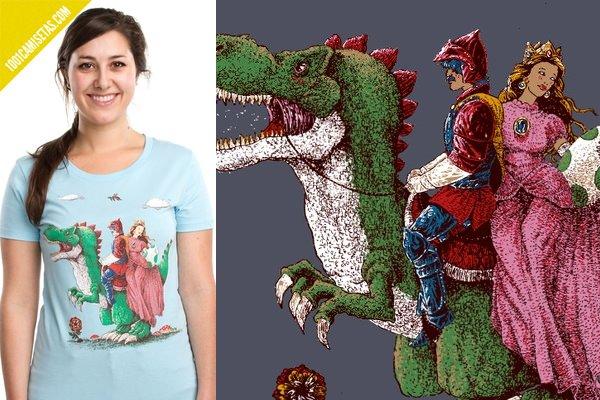 Camiseta Mario historical reconstitution