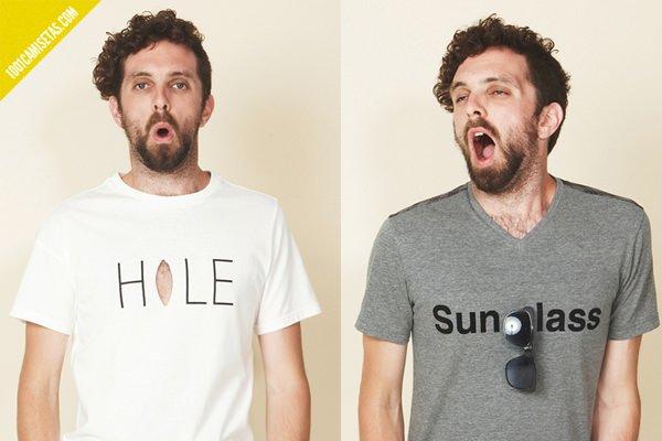 Camisetas trompe l'oeil