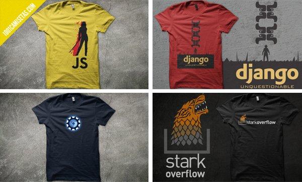 Camisetas geeks