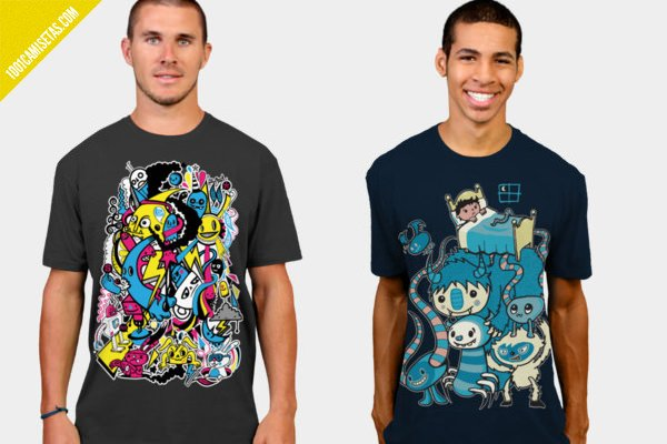 Camisetas graficas Wotto