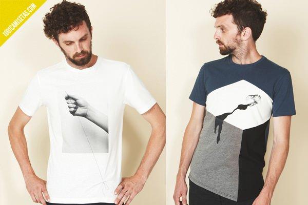Camisetas ilusiones visuales
