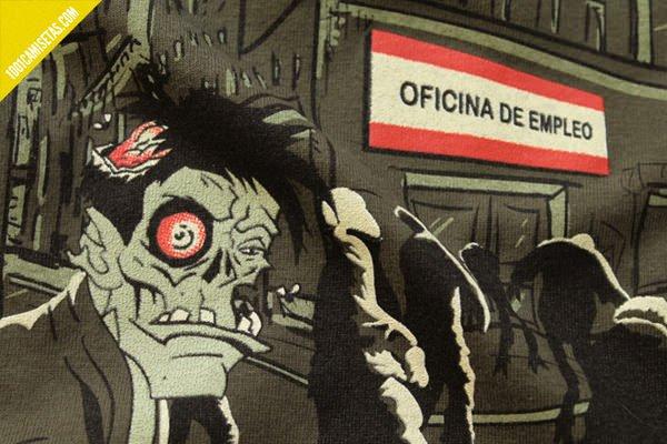 Camisetas señor miyagi zombis