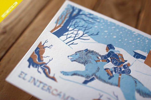 Impresion artesanal letterpress