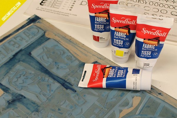 Tintas textiles silicona