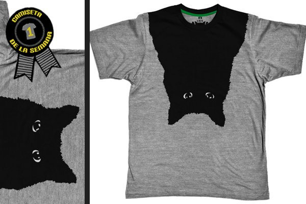 Camiseta de la semana black cat