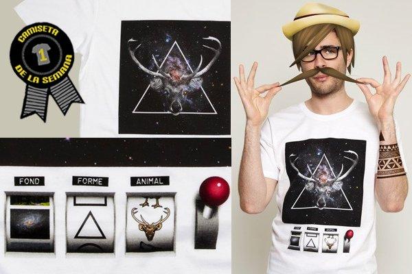 Camiseta de la semana hipster