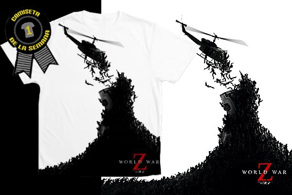 Camiseta world war z