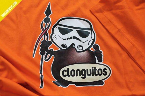 Camisetas divertidas Star wars