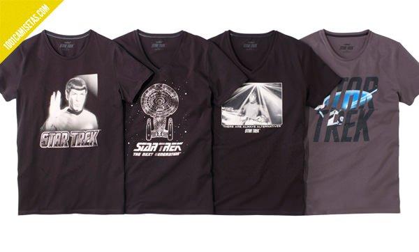 Camisetas oficiales star trek