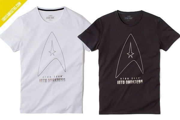 Camisetas Star trek Celio