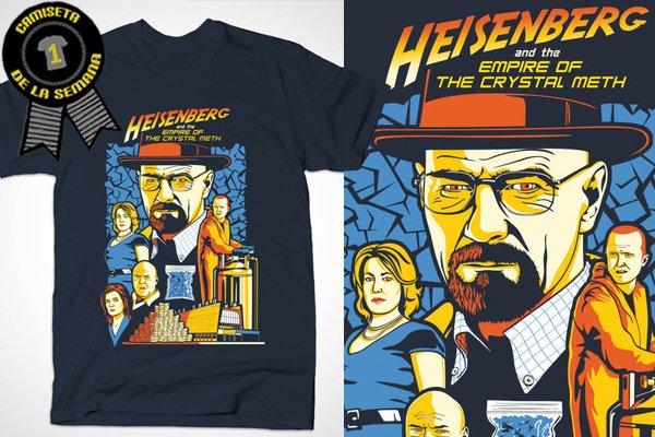 Camiseta de la semana heisenberg