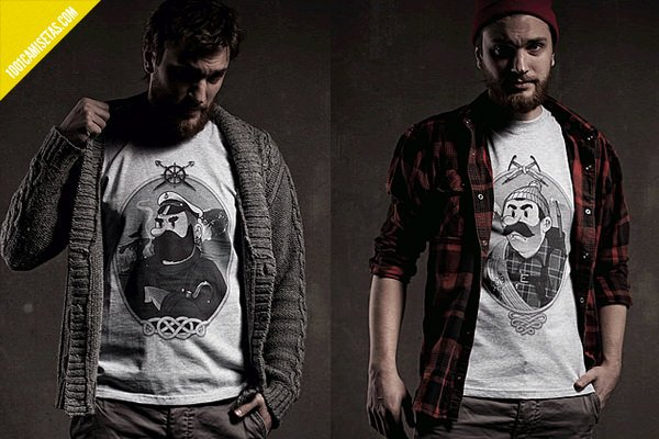 Camisetas Hobo and Sailor