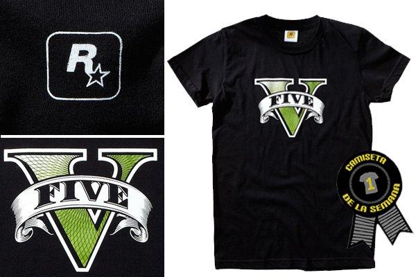 Camiseta Grand Theft auto 5