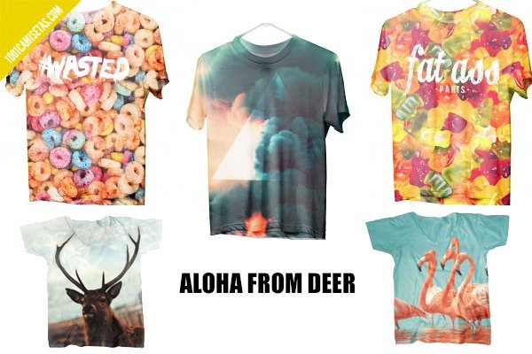 Camisetas Aloha from deer