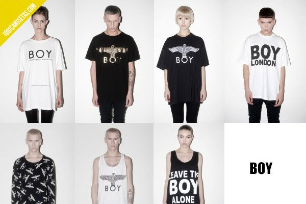 Camisetas Boy London