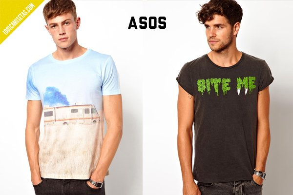 Camisetas breaking bad asos