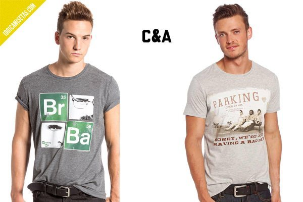 Camisetas breaking bad C&A