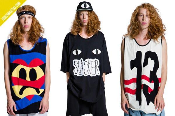 Camisetas gráficas Daniel Palillo