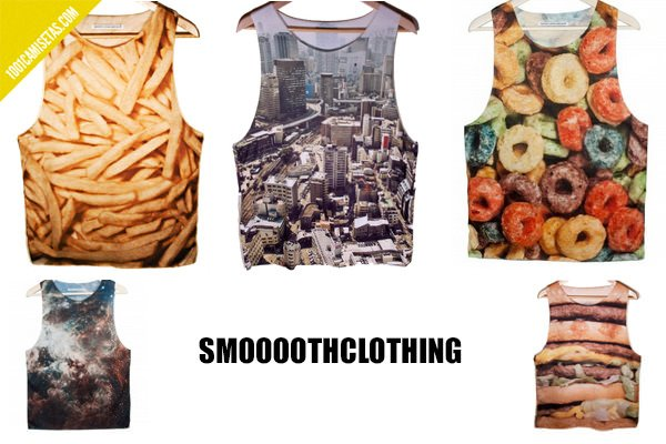 Camisetas hipsters smoooothclothing