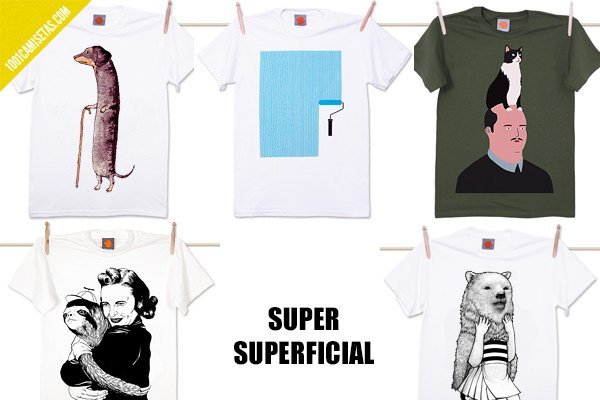 Camisetas supersuperficial
