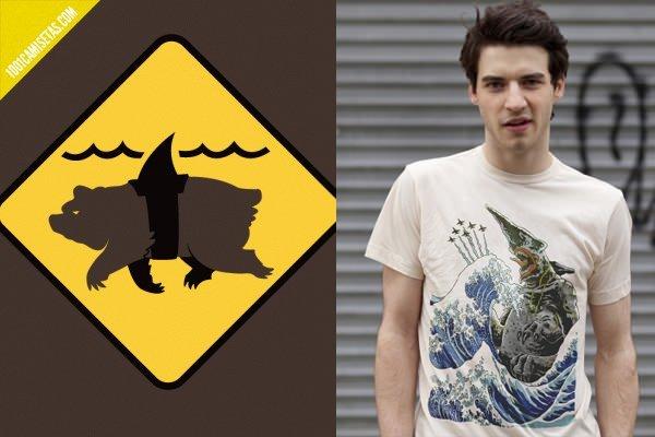 Camisetas tiburones bustedtees