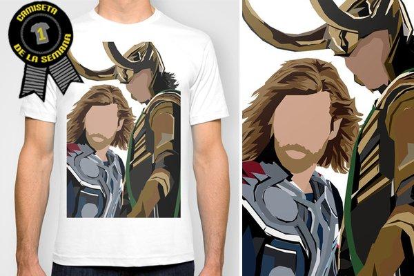 Camiseta de la semana Thor y Loki