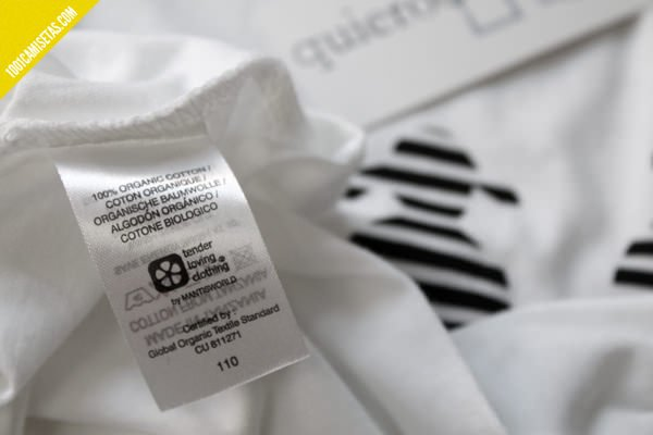 Camisetas algoóon biológico