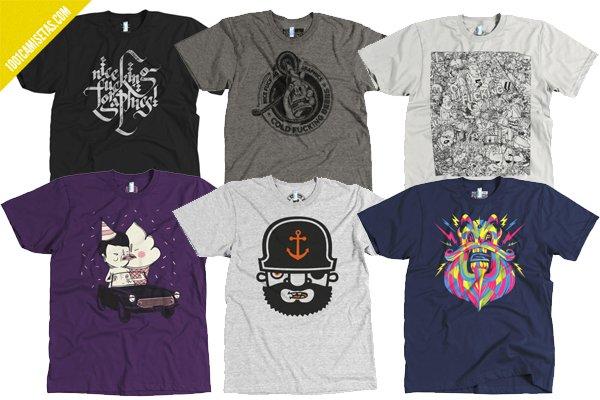 Camisetas nicefucking graphics