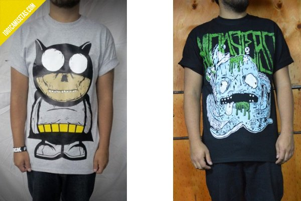 Camiseta monsters