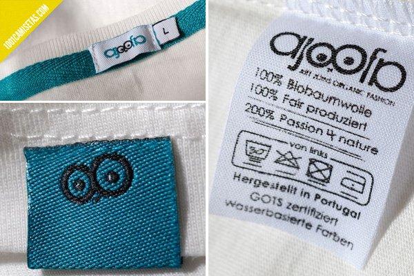 Etiquetas camisetas