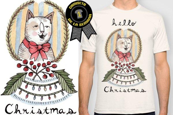 Camiseta de la semana navidad