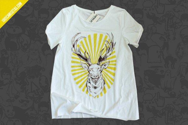 Camiseta reno