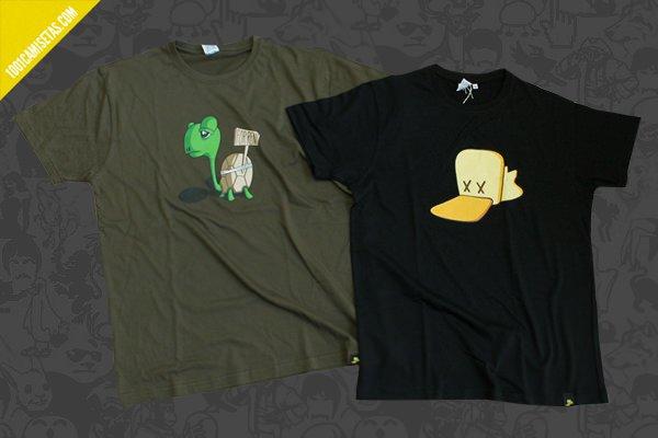 Camisetas Pato mareado