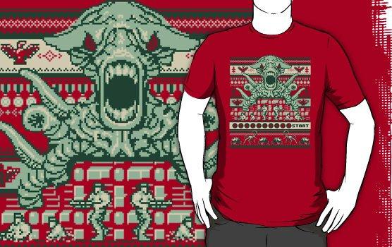 Camiseta a contra family christmas