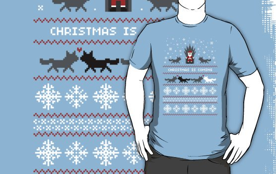 Camiseta christmas is coming